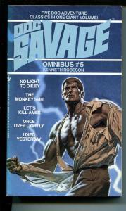 Doc Savage Omnibus #5-Bantam-5 pulp novels-VF
