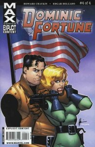 Dominic Fortune #4 FN; Marvel   save on shipping - details inside
