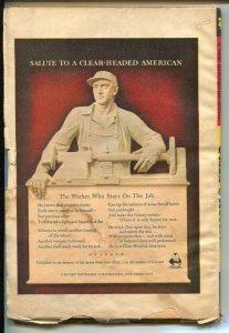 G-Men Detective Summer 1944-hero Pulp-Dan Fowler-F.B.I.-Surrender or Die-VG-