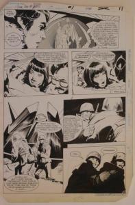 GENE COLAN / KLAUS JANSON original art, JEMM SON of SATURN #1 pg 11, 11x16, 1984