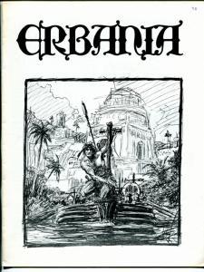 Erbania #35 1974 -Edgar Rice Burroughs-Tarzan-Roy C Krenkel-info-pix-art- FN/VF