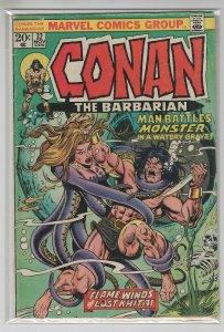 CONAN THE BARBARIAN (1970 MARVEL) #32 VG+ A15469