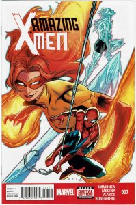 Amazing X-Men #7 (2014 v2) Firestar Spider-Man NM
