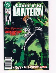 Green Lantern #11 VF DC Comics Comic Book Jones Hal Jordan Guy Gardner 1991 DE21