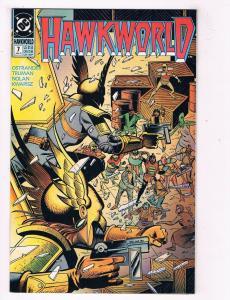 Hawkworld #7 VF DC Comics Comic Book Ostrander JLA Jan 1991 DE39 AD12