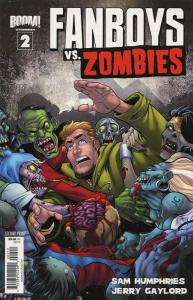 Fanboys Vs. Zombies #2 (2nd) VF/NM; Boom! | save on shipping - details inside