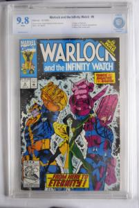 Warlock and the Infinity Watch, 9  9.8