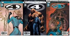 4 (Marvel Knights) (2004) 5-7  The Pine Barrens
