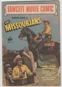 Fawcett Movie Comics #10 (Apr-51) VG Affordable-Grade Marshall Bill Blades (M...