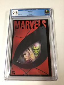 Marvels 4 Cgc 9.8 White Pages Alex Ross Cover And Interiors Marvel  Spider-man