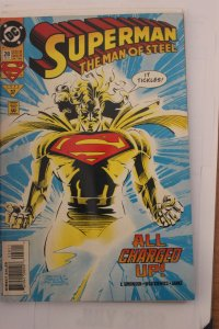 Superman the Man of Steel 28 NM