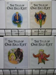 TALE OF ONE BAD RAT (1995 DH) 1-4  BRYAN TALBOT, Gaiman