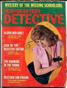 HEADQUARTERS DETECTIVE-APRIL 1966-G-SPICY-MURDER-RAPE-KIDNAP-MASSACRE G