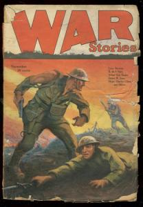 War Stories Pulp #1  November 1926- Arthur Guy Empey G-