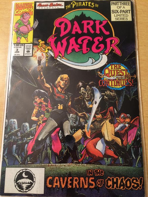 Pirates of Dark Water #3 Hanna Barbera