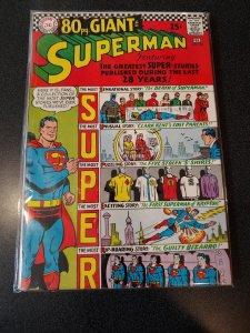 SUPERMAN #193 1967  80-PAGE GIANT BIZARRO high grade vf