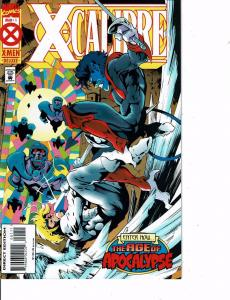 Lot Of 2 Marvel Comic Books X Man #2 and X-Calibre #1 ON5