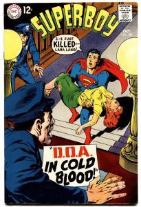 SUPERBOY #151 1967-dc silver age comic book high grade
