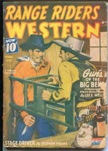 Range Riders Western 3/1944-hero pulp Guns of Big Bend-G-