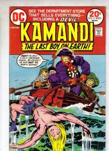 Kamandi the Last Boy on Earth #11 (Nov-73) FN High-Grade Kamandi