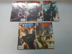X-Men Die by the Sword set #1-5 8.5 VF+ (2007)
