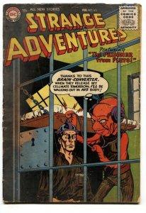 Strange Adventures #65 1956-Weird alien cover-Sci-fi-incomplete