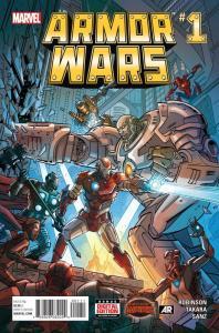 ARMOR WARS (2015 MARVEL) #1