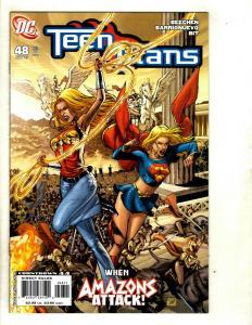 12 Teen Titans DC Comics # 48 49 50 51 52 53 54 55 56 57 58 59 GK25