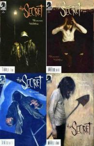 SECRET (2007 DH) 1-4  Complete Series!