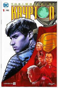 World Of Krypton #1 Syfy Promo Edition (DC, 2018) NM