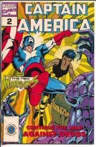 Captain America Goes To War Against Drugs Vol. 2 #3-Marvel-New Warriors-FN/VF