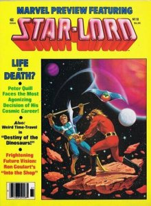 ORIGINAL Vintage 1979 Marvel Preview #18 Last Star Lord Guardians of the Galaxy