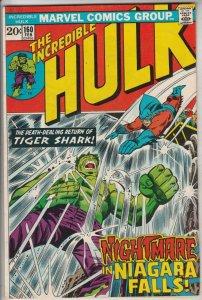 Incredible Hulk #160 (Feb-73) NM- High-Grade Hulk