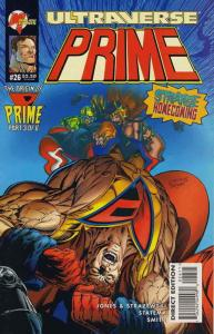 Prime (Vol. 1) #26 VF/NM; Malibu | save on shipping - details inside