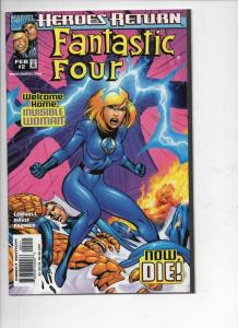 FANTASTIC FOUR #2, Vol 3, NM, Thing, Invisible Woman, 1998, more FF in store