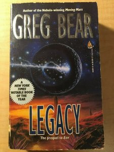 3 Books Legacy Oath of Fealty Orion and the Conqueror Greg Bear Ben Bova MFT2