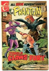 THE PHANTOM #46 1971-CHARLTON COMICS-WILD SCI FI COVER FN