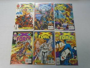 X-Force lot 18 different from #40-62 8.0 VF (1994-97 1st Series)