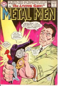 METAL MEN 7 G-VG  May 1964 COMICS BOOK