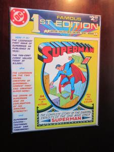DC Famous First Treasury Edition #C-61 - Superman - 7.5 - 1979
