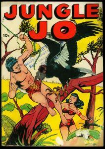 JUNGLE JO-1950-NO NUMBER ISSUE-JO JO, CONGO KING-FOX  G-