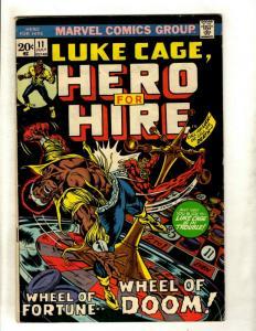 Luke Cage Hero For Hire # 11 FN Marvel Comic Book Harlem Copperhead Moriah NP9