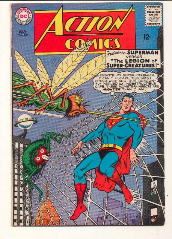 Action Comics (1938 series) #326, VF- (Actual scan)
