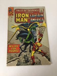 Tales Of Suspense 73 4.5 Vg+ Very Good+ Stain On Cover Marvel SA