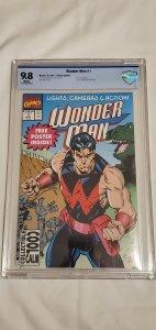 Wonder Man #1 - CBCS 9.8 - 1st Series 1991