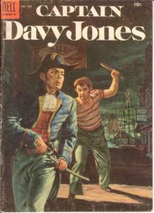CAPTAIN DAVY JONES F.C. 598 VG+ 1954 COMICS BOOK
