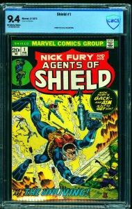 Shield #1 CBCS NM 9.4 Off White to White