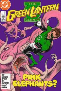 Green Lantern Corps, The #211 VF/NM; DC | save on shipping - details inside