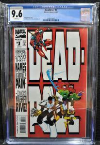 Deadpool #3 (Marvel, 1993) CGC 9.6