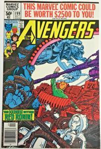 AVENGERS#199 VF/NM 1980 MARVEL BRONZE AGE COMICS